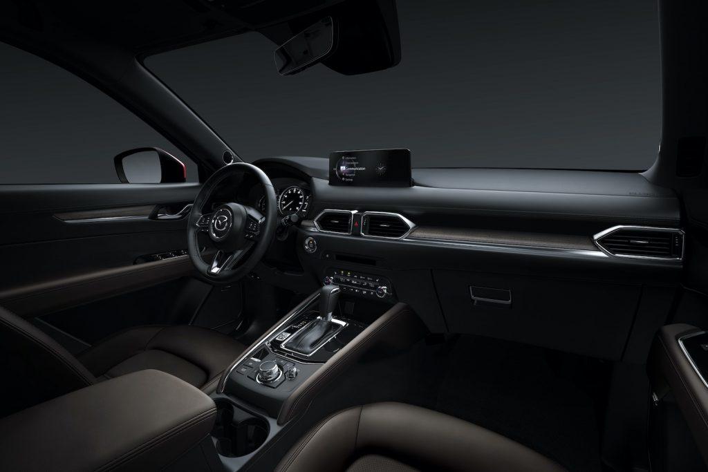 The interior of the 2021 Mazda CX-5