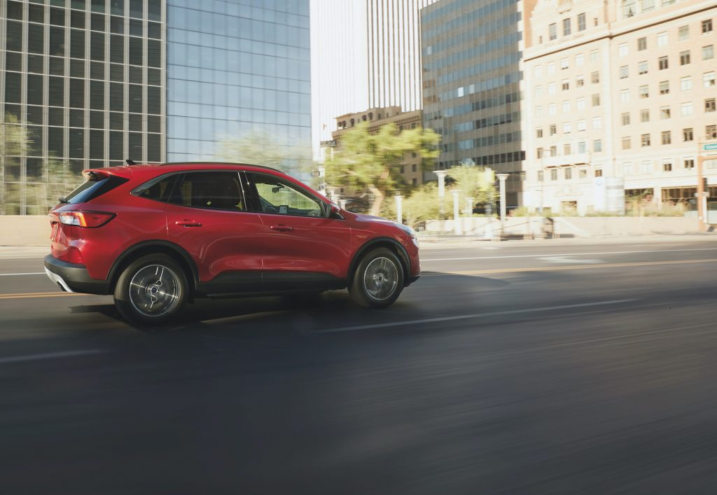 2021 Ford Escape being driven