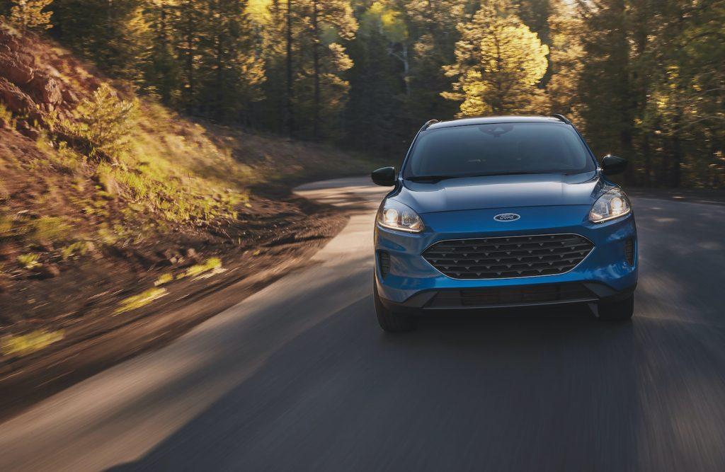 2021 Ford Escape driving