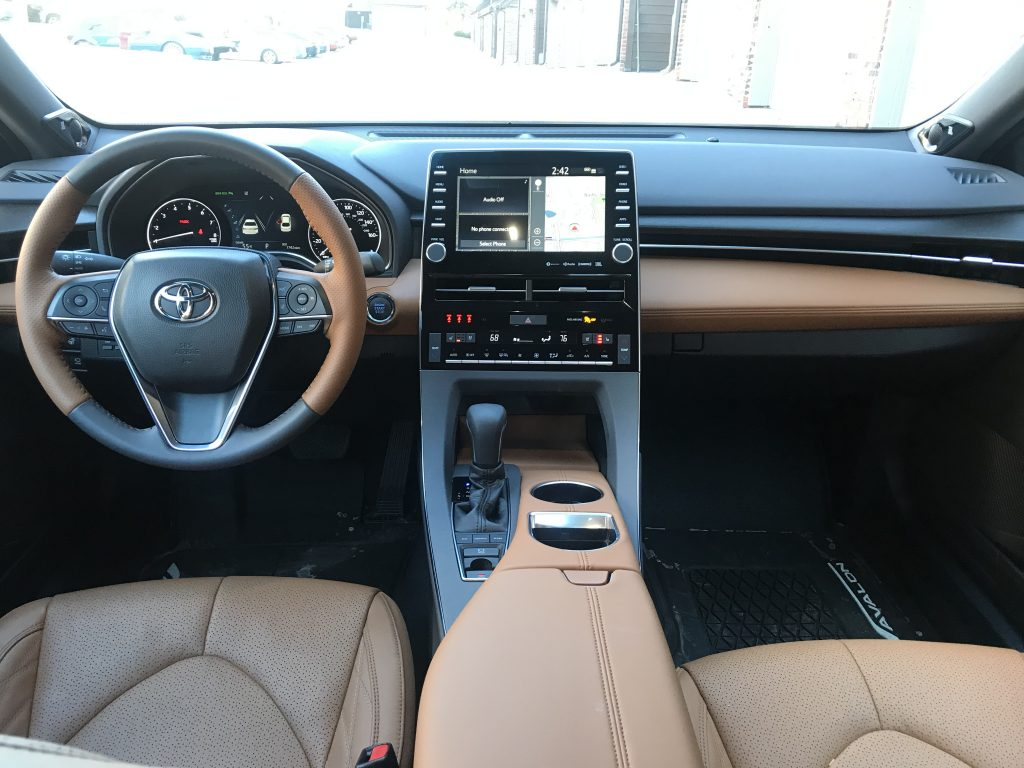 2021 Toyota Avalon Limited Interior