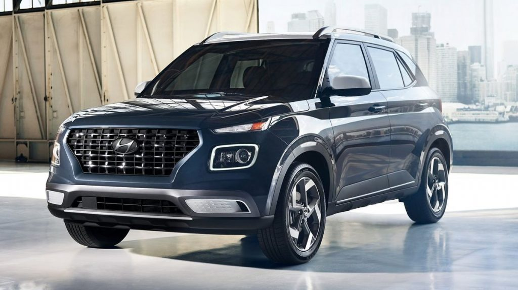 2021 Hyundai Venue on display
