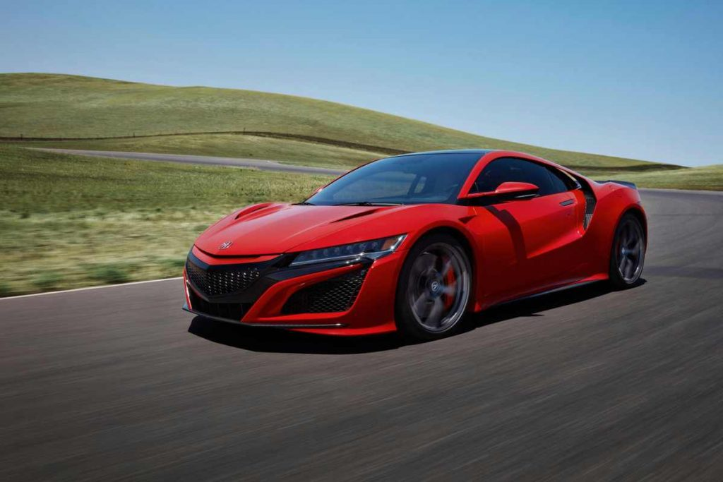 2020 Acura NSX in red | Acura