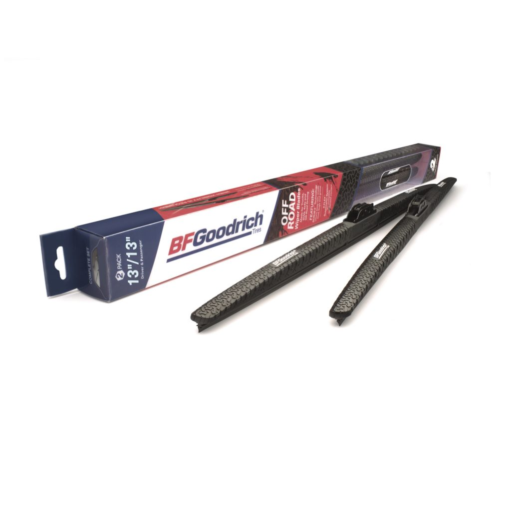 A set of BFGoodrich Off-Road Wiper blades