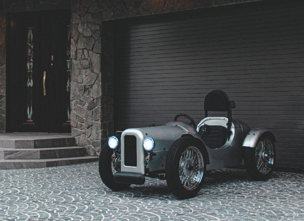 A silver Blaze EV Classic
