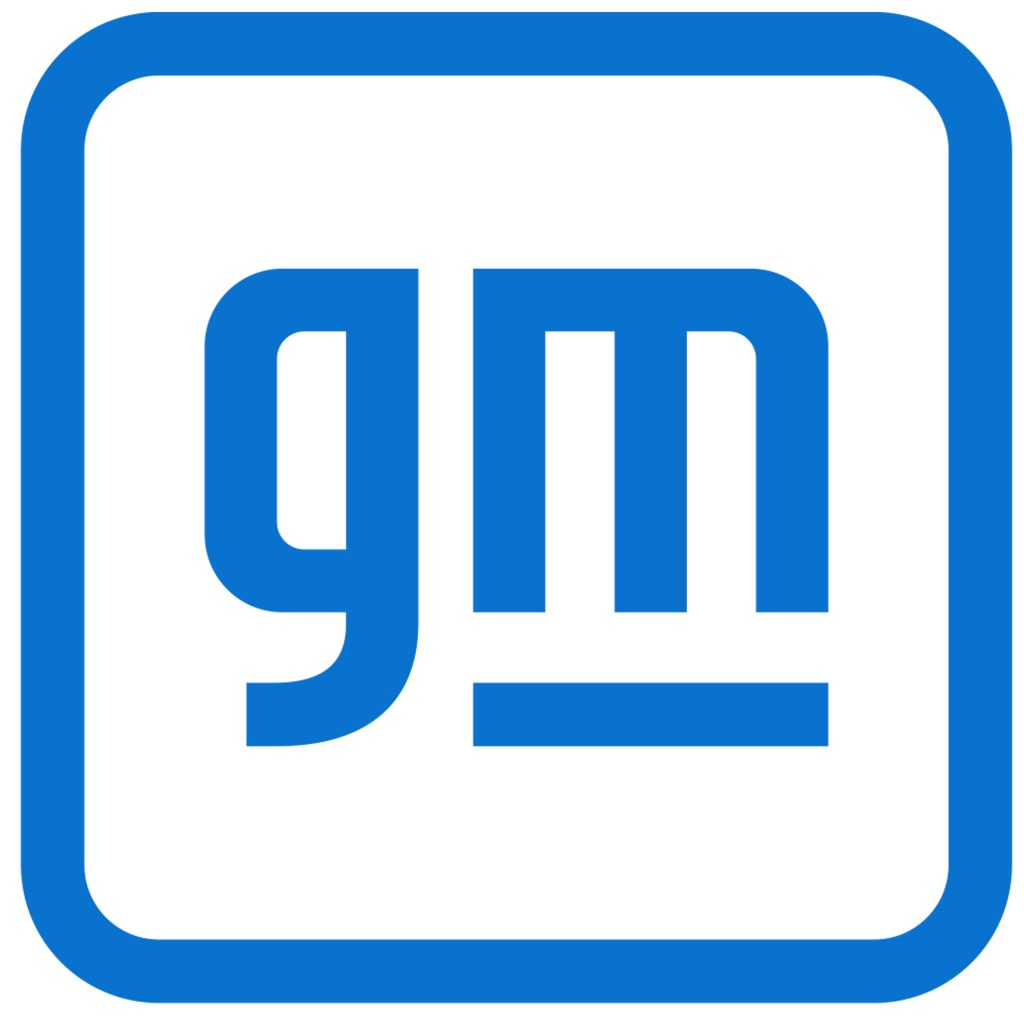 This is the new logo for GM beginning Monday, January 11, 2021