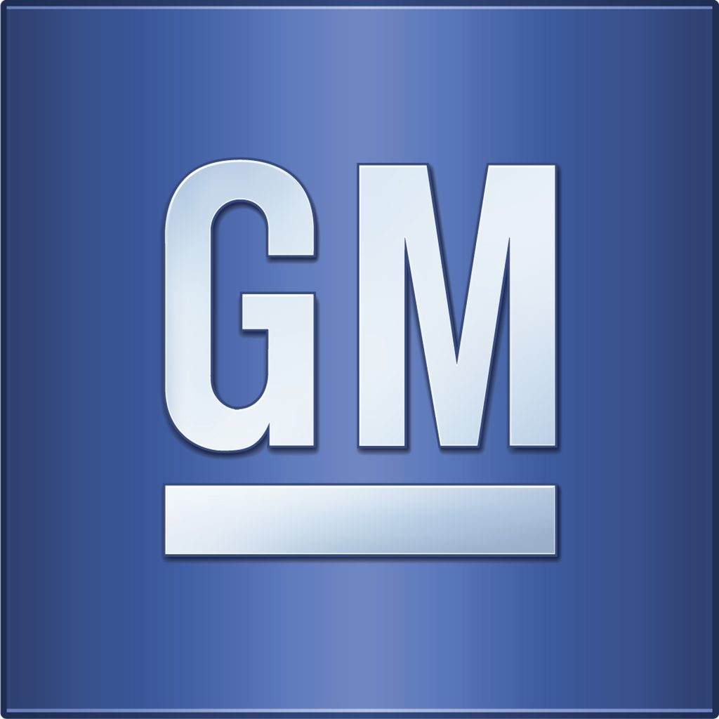 This GM logo is being replaced Monday, January 11, 2021
