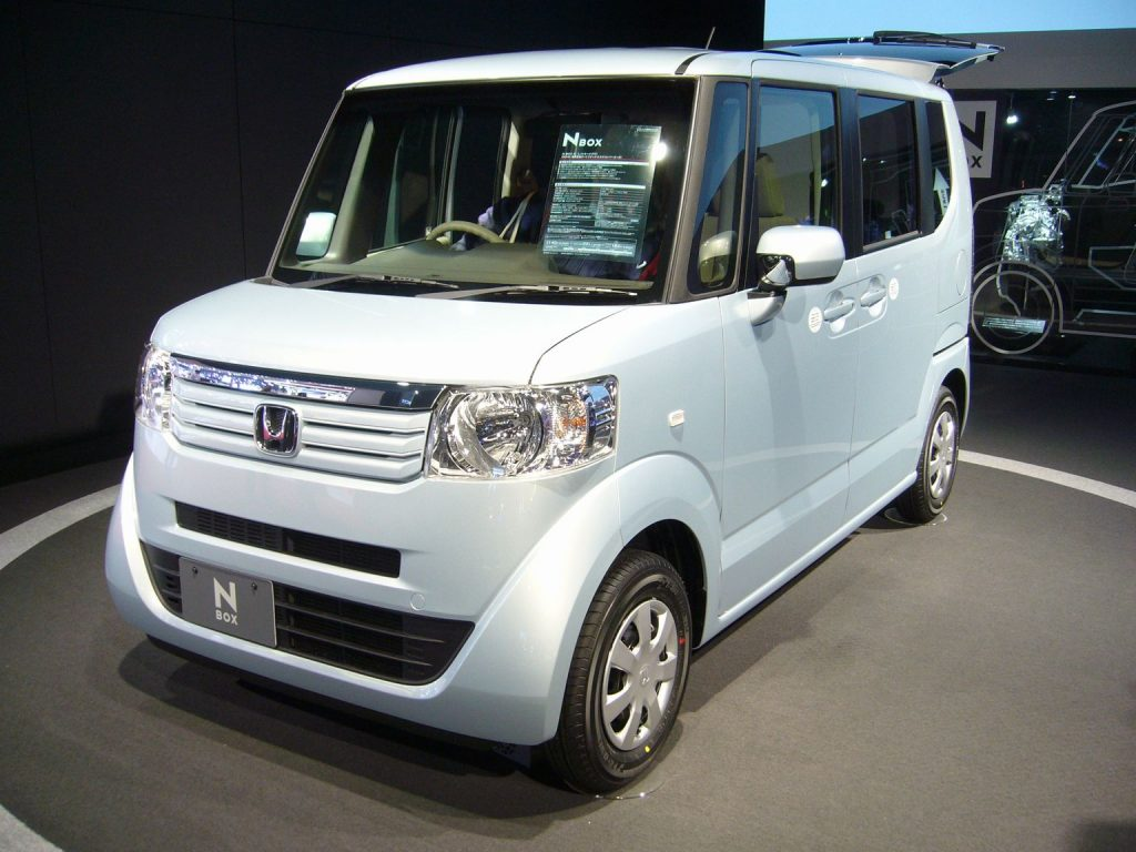 Honda N-Box Kei Car