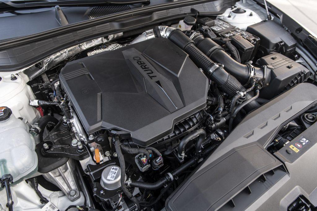 2021 Hyundai Sonata N Line Engine