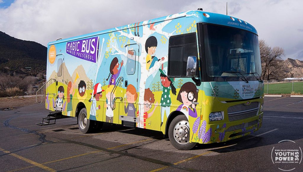 The Magic Bus mobile preschool EV Winnebago RV
