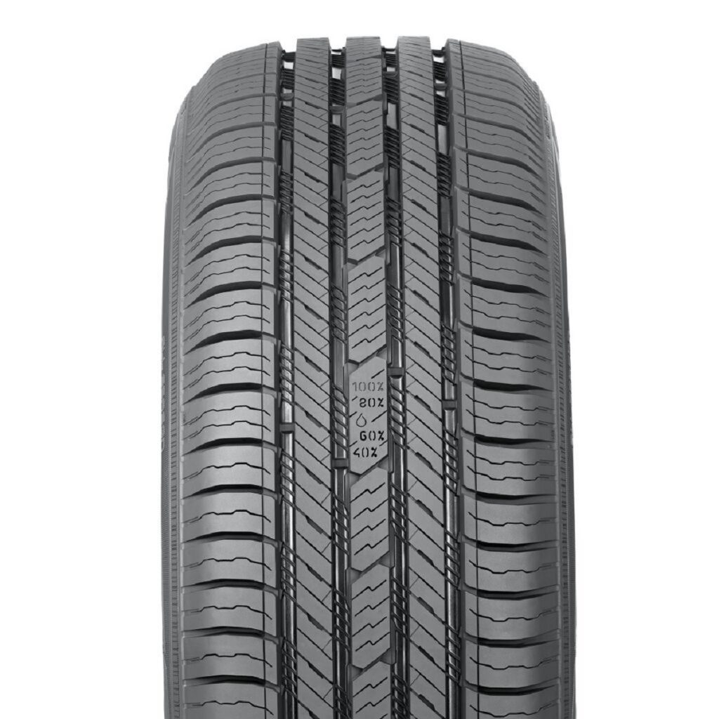 The tread design and Driving Safety Indiactor of the Nokian Tyres One all-season tire