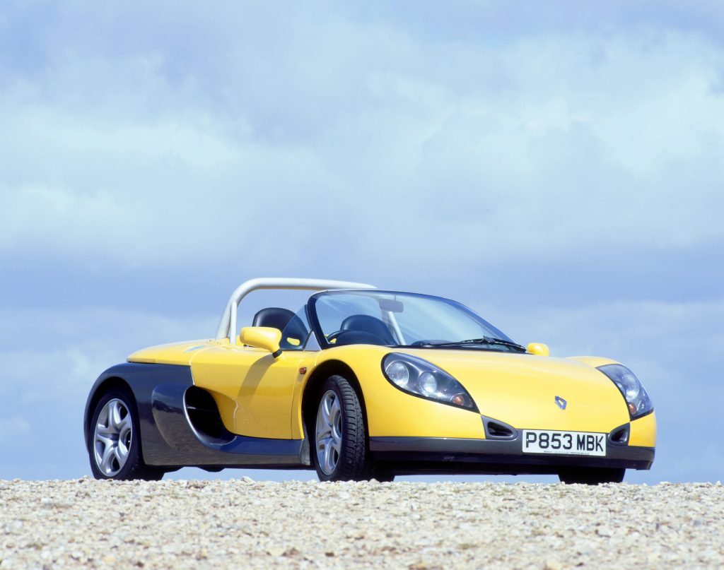1997 Renault Sport spider, 2000