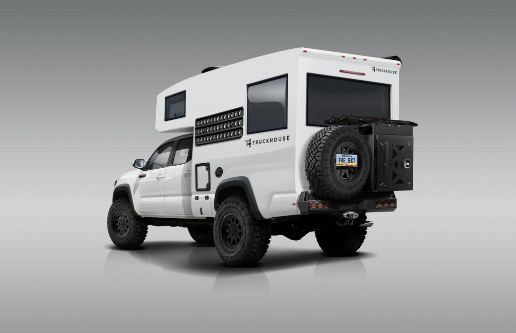 BCT overlanding camper based on a Toyota Tacoma TRD