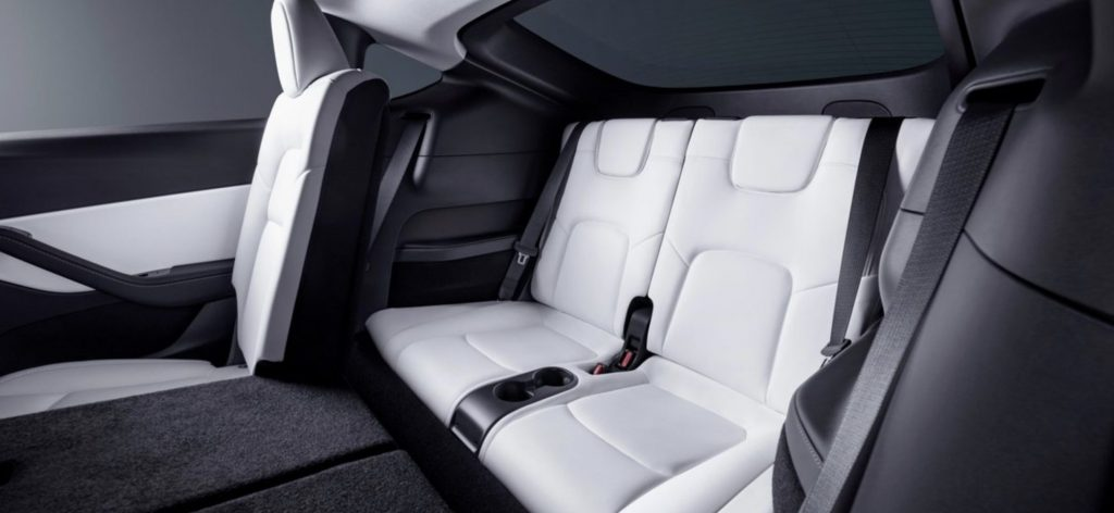 2021 Tesla Model Y Third Row Seats