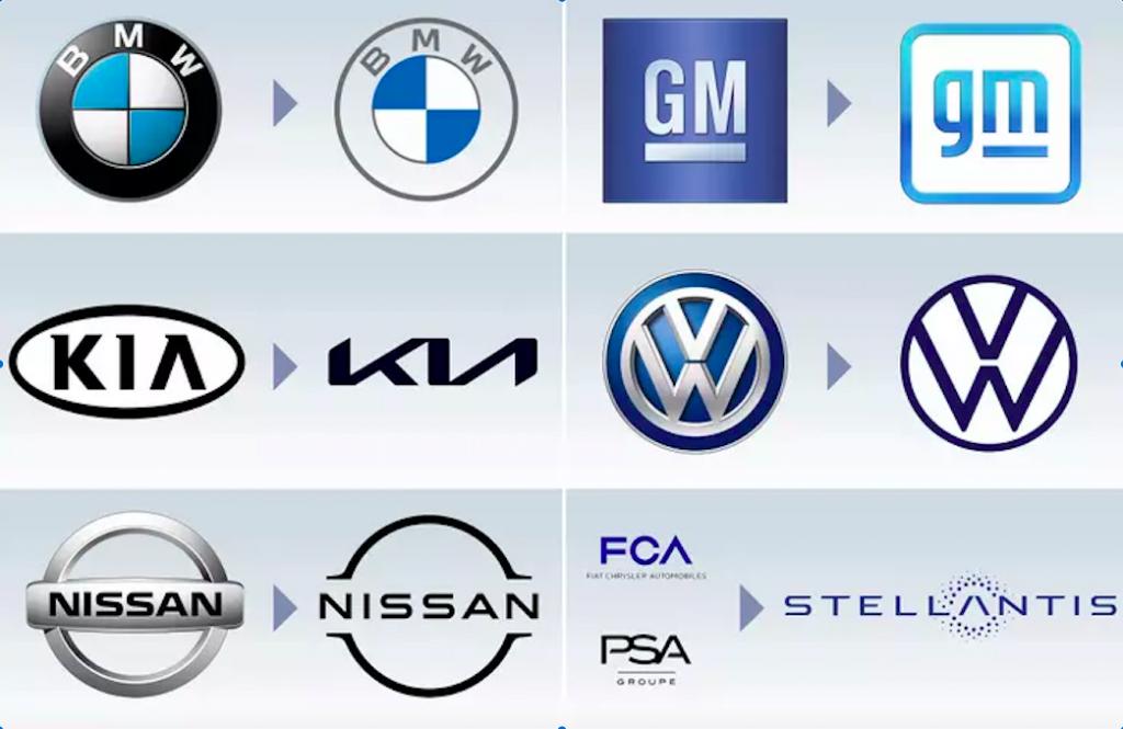 BMW, GM, Kia, VW,