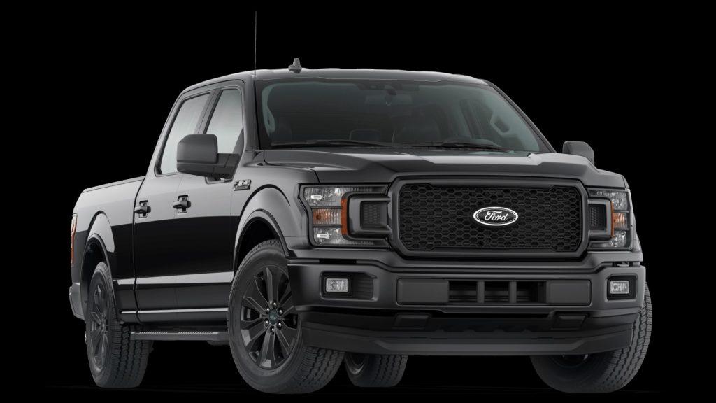 2020 XLT Black Ford F-150