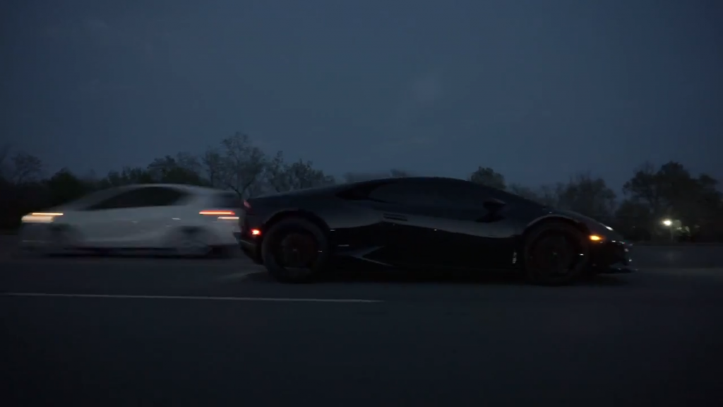 Gabriel Sleiman's 2015 Lamborghini Huracan  tapped going over 200 mph. That's a hell of a speeding ticket.
