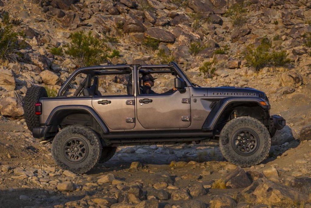 2021 Jeep Wrangler Rubicon with half doors