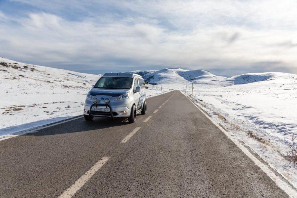 Nissan e-NV200 Winter Concept Camper Van