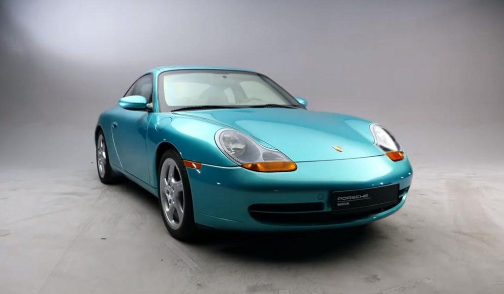undercover armor plated Porsche 911 996 Carrera