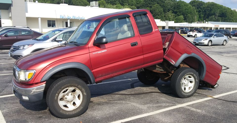 Used Toyota Tacoma with frame rot