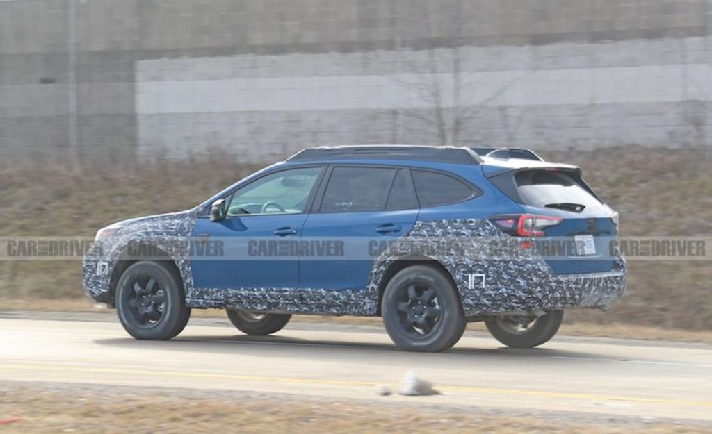 The 2021 Subaru Outback is getting an off-road focused option called the Wilderness package
