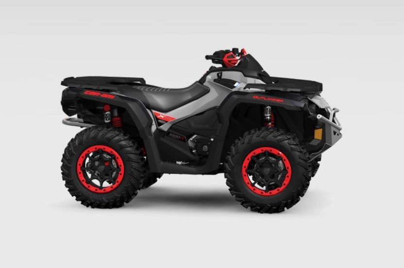 press photo against a white backdrop of the 2021 Can-Am Outlander X XC 1000