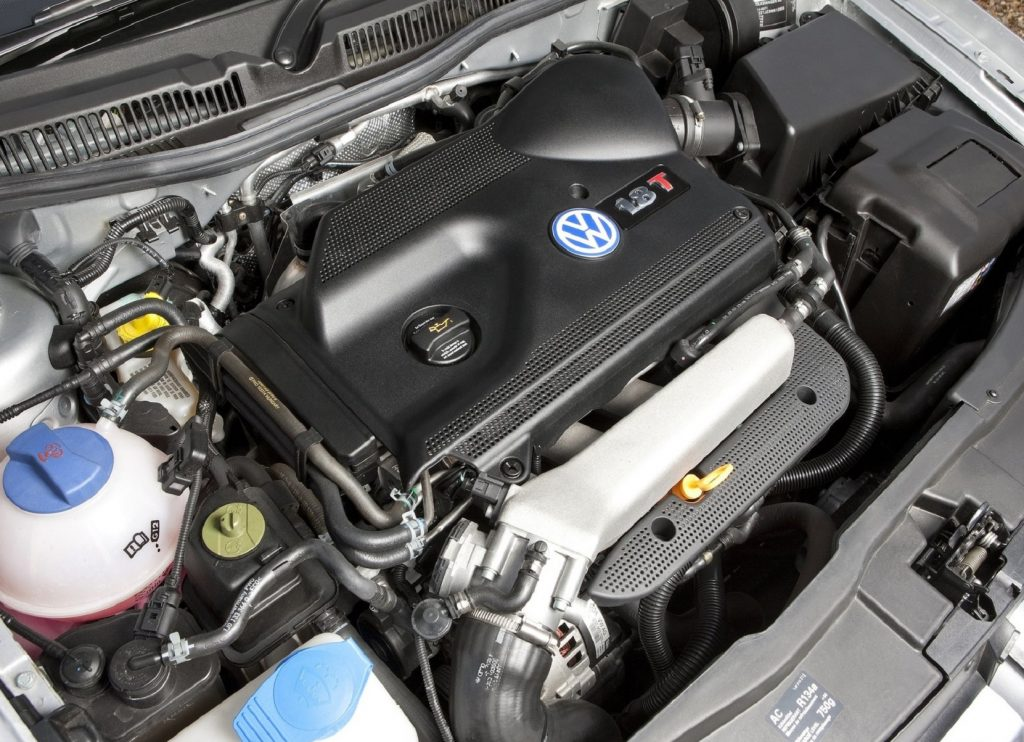 The 1999 Volkswagen MkIV GTI's 1.8T EA113 engine