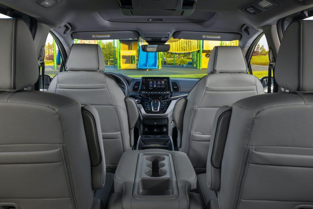 The interior of the 2021 Honda Odyssey