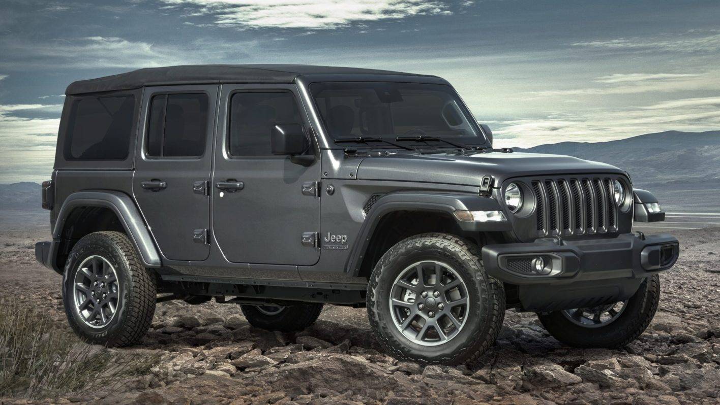 a 2021 Jeep Wrangler Unlimited shows off its stylish appeal as the vehicle with the best resale value.