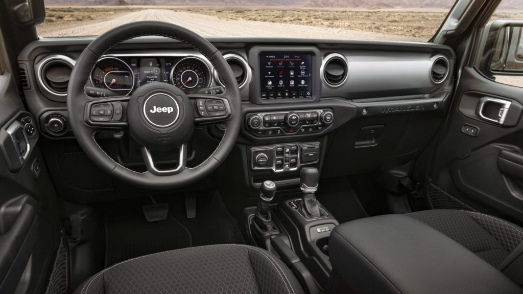 2021 Jeep Wrangler 80th Anniversary Trim Interior