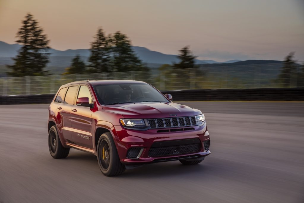 2021 Jeep Grand Cherokee Trackhawk parked