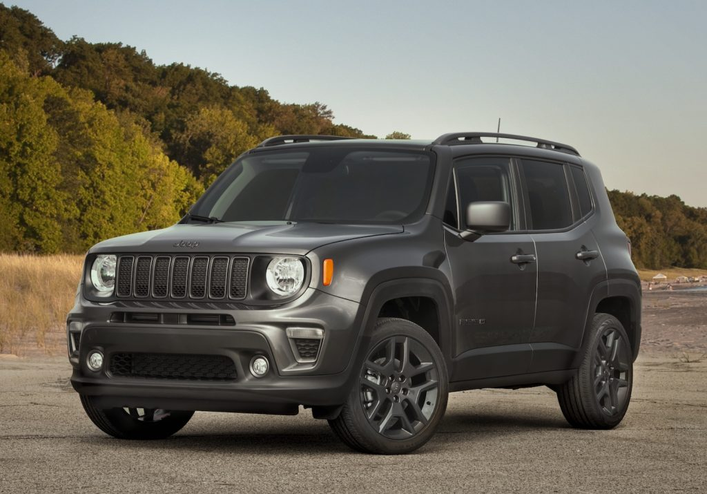 2021 Jeep Renegade 80th Anniversary Edition parked