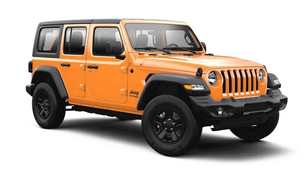 2021 Jeep Wrangler in Nacho Orange
