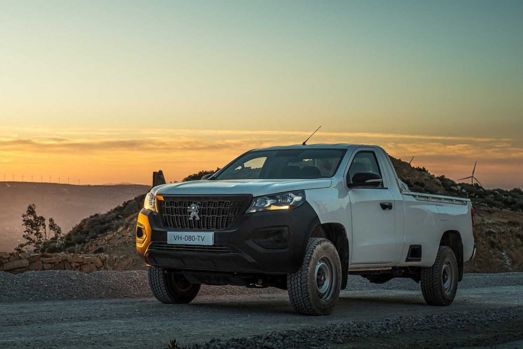 2021 Peugeot Landtrek single cab pickup | Stellantis