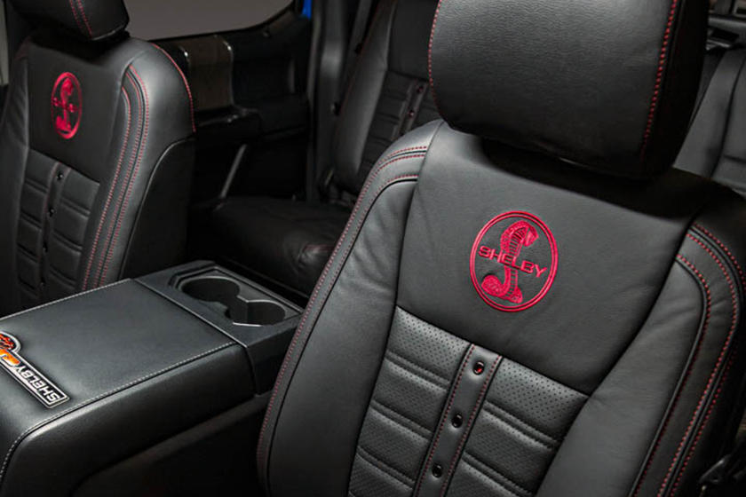 2021 Shelby Super Baja Ford F-250 leather seats