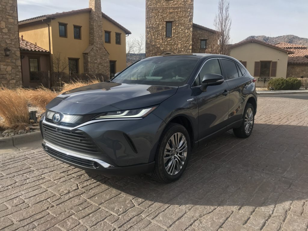 2021 Toyota Venza Limited front shot
