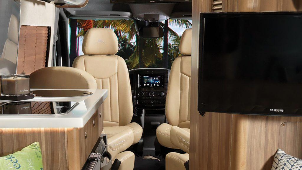 2021 Tommy Bahama Airstream van drivers area