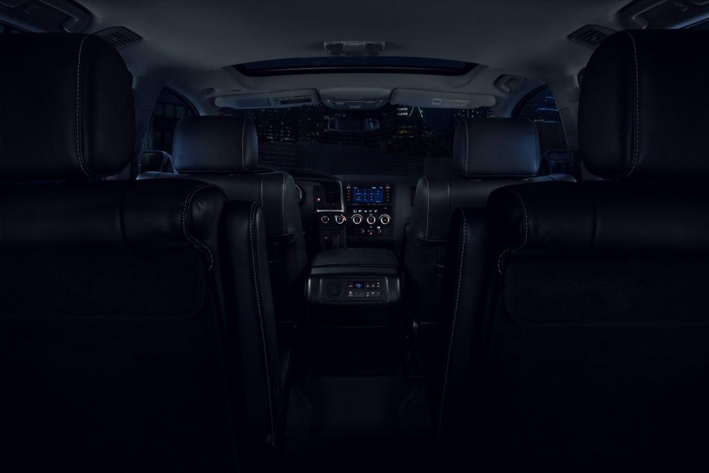 2021 Toyota Sequoia Nightshade Edition interior