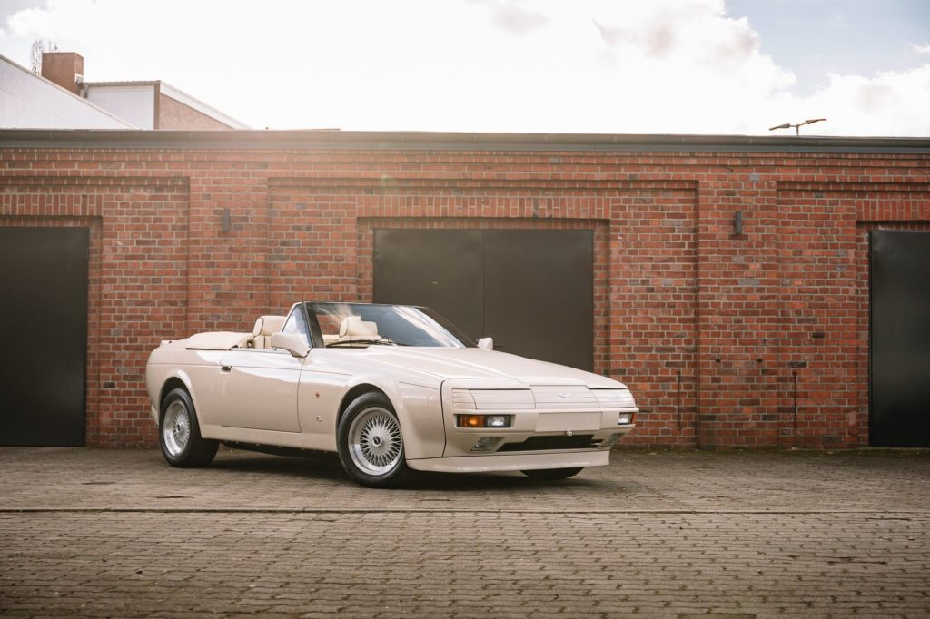 1989 Aston Martin V8 Volante Zagato is an ugly little bugger that will likely go for big money