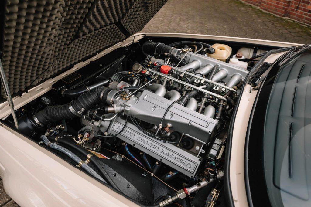 1989 Aston Martin V8 Volante Zagato engine