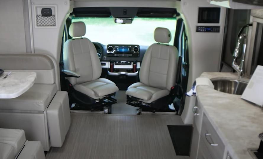 possible setup inside of the Canoo van