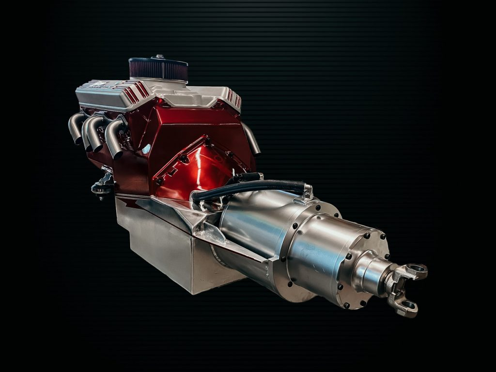 Webb Motorworks Cyber Beast Small Block Chevy Electric Motor kit