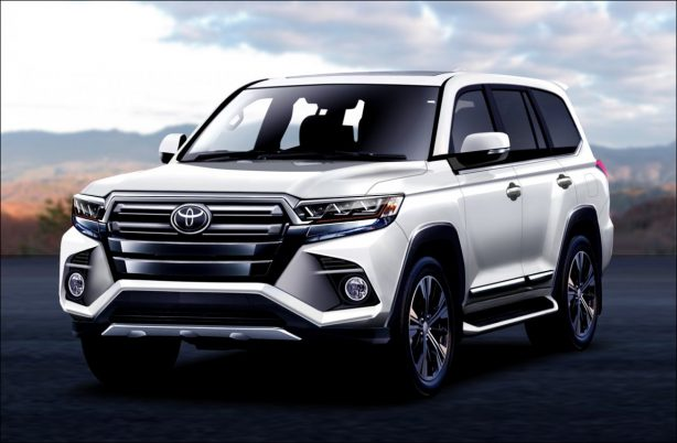 the new Land cruiser model on display is sure to be a different and better SUV than ever