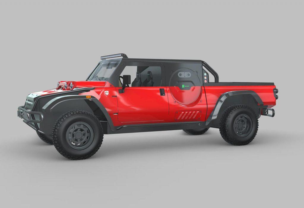 Glickenhaus hydrogen-powered Boot pickup |  Glickenhaus Boot pickup