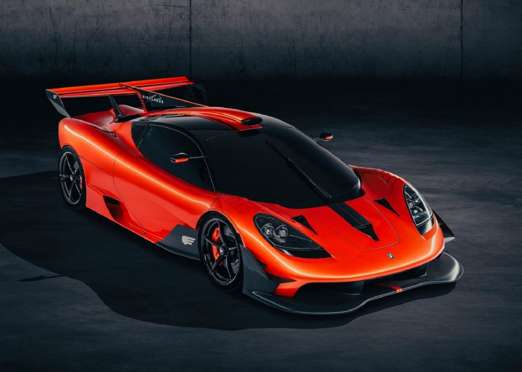 The orange Gordon Murray T.50s Niki Lauda