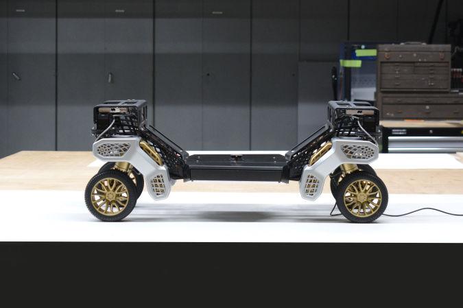 Hyundai TIGER autonomous robot platform