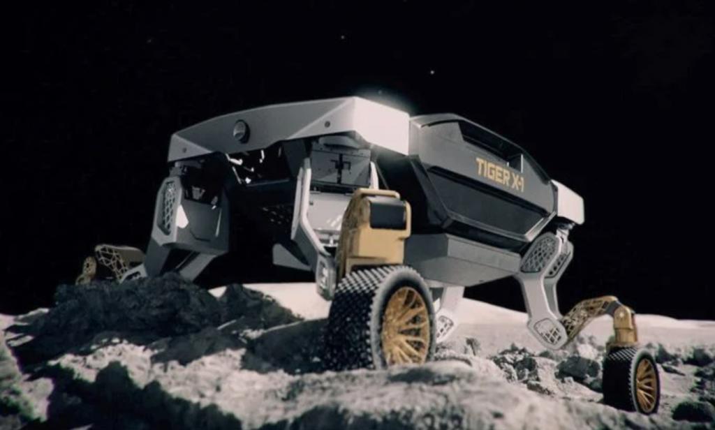 Hyundai TIGER autonomous robot concept up close