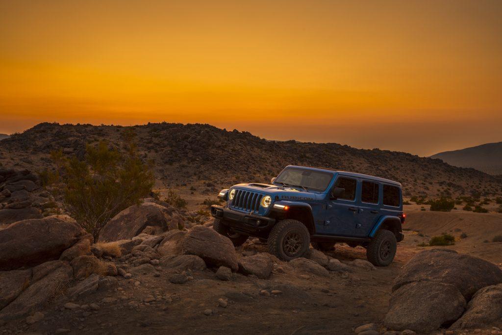 2021 Jeep® Wrangler Rubicon 392 off-roading