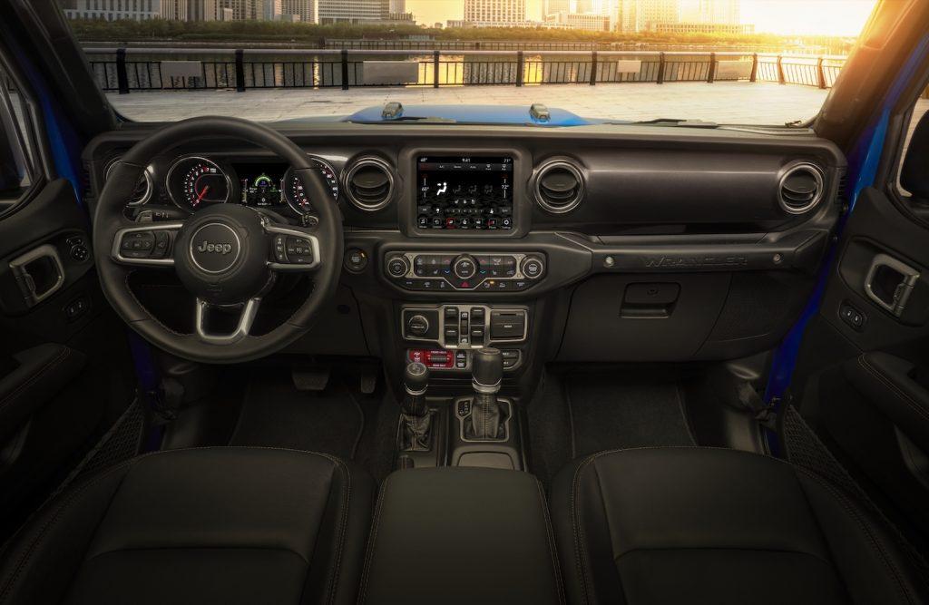 2021 Jeep® Wrangler Rubicon 392 interior