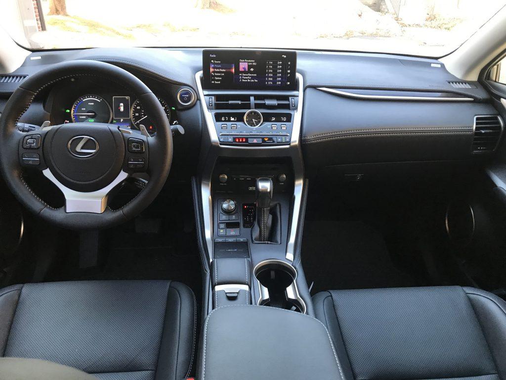 2021 Lexus NX 300 interior shot